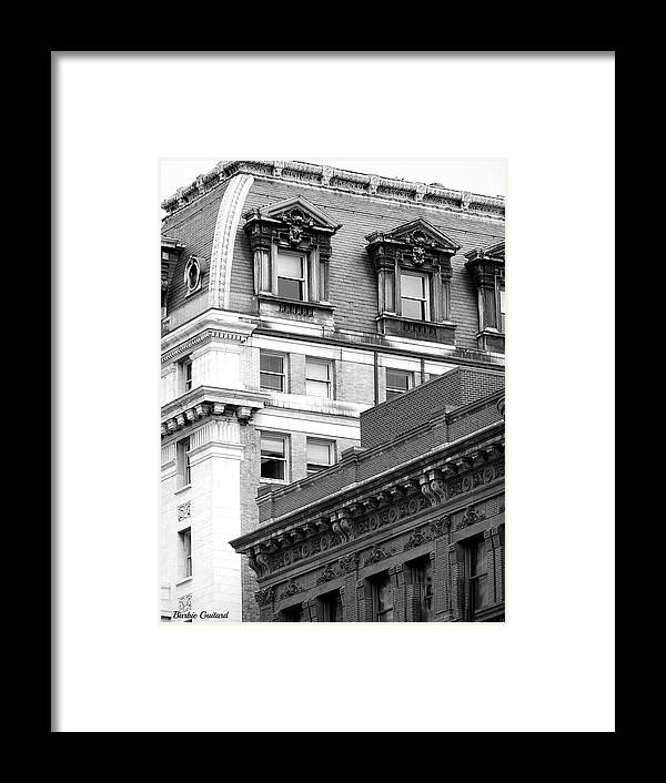 Washington Dc Framed Print featuring the photograph Still Black And White by Barbie Guitard