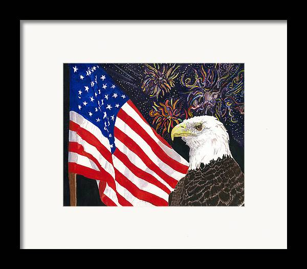 Freedom Framed Print featuring the painting Still Free by Joy Braverman
