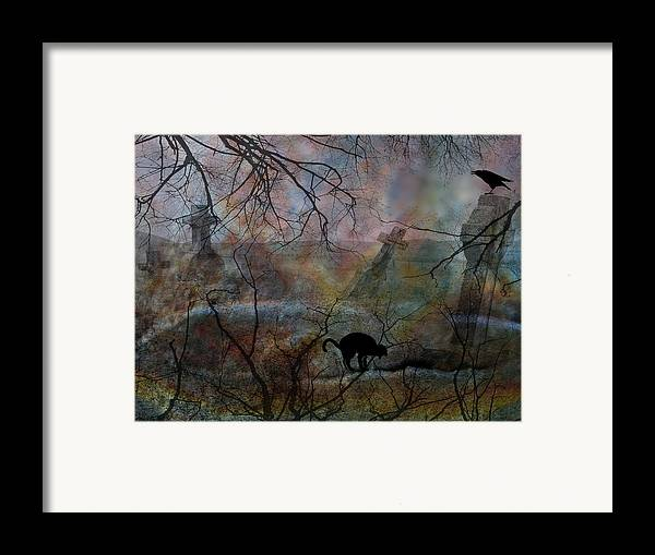 Halloween Framed Print featuring the photograph Still In There by Shirley Sirois