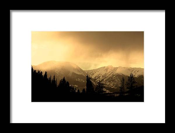 Landscape Framed Print featuring the photograph Stone by Colin McPhillips