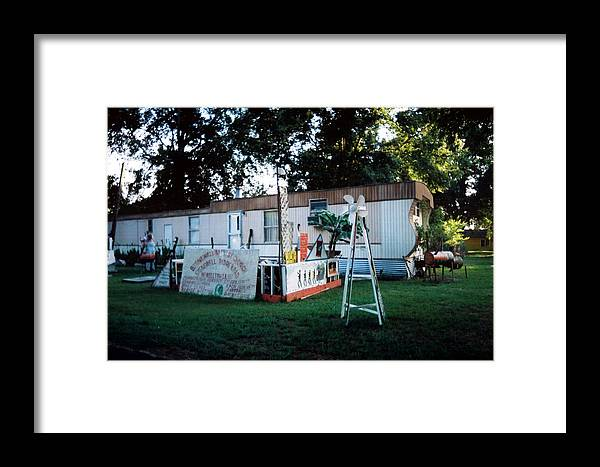 Louisiana Framed Print featuring the photograph Stonewall Baptist Church by Doug Duffey