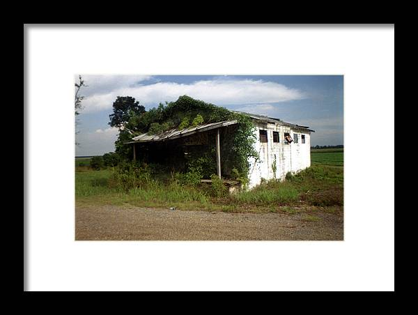 Louisiana Framed Print featuring the photograph Store- La Hwy 4 by Doug Duffey