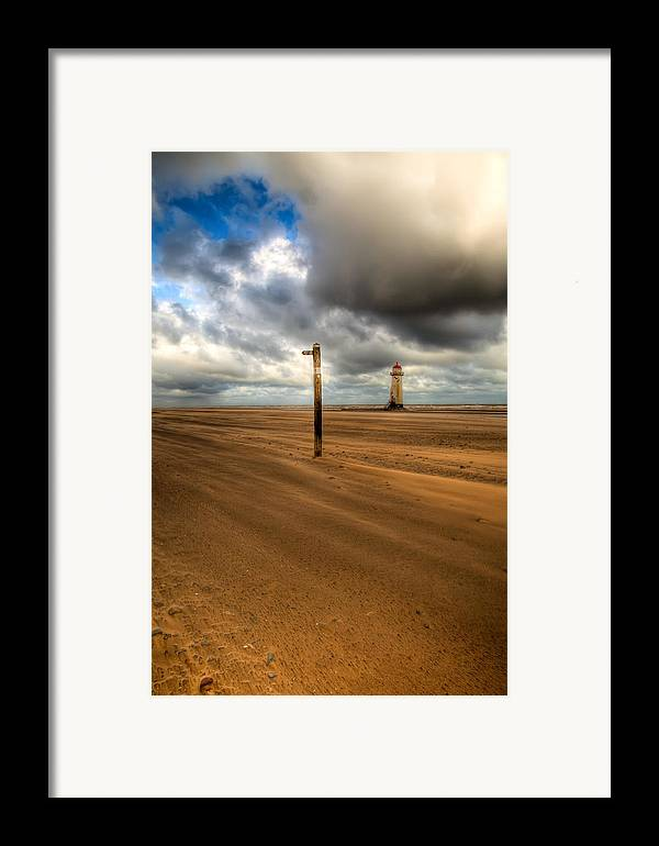 Hdr Framed Print featuring the photograph Storm Brewing by Adrian Evans