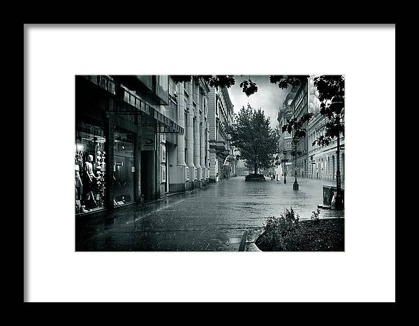 Storm Framed Print featuring the photograph Storm Day by Zoran Buletic