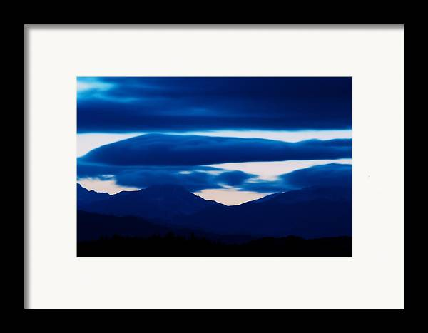 Sunset Framed Print featuring the photograph Storm by Kevin Bone