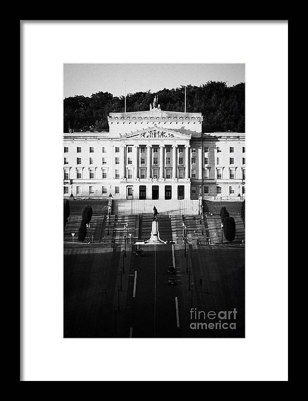 Belfast Framed Print featuring the photograph Stormont Belfast by Joe Fox