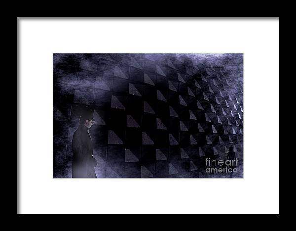 Shapes Framed Print featuring the photograph Strolling Along The Penrose by The Stone Age