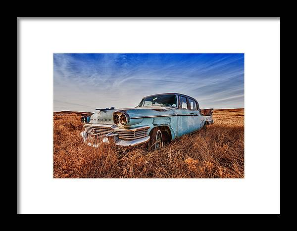 Cheyenne Framed Print featuring the photograph Studebaker President by Richard Steinberger