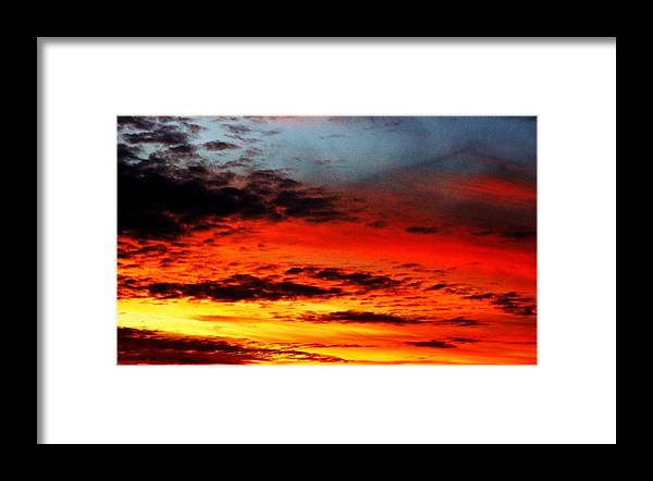 Sunset Framed Print featuring the photograph Sublime And Wonderful by Ami Tirana