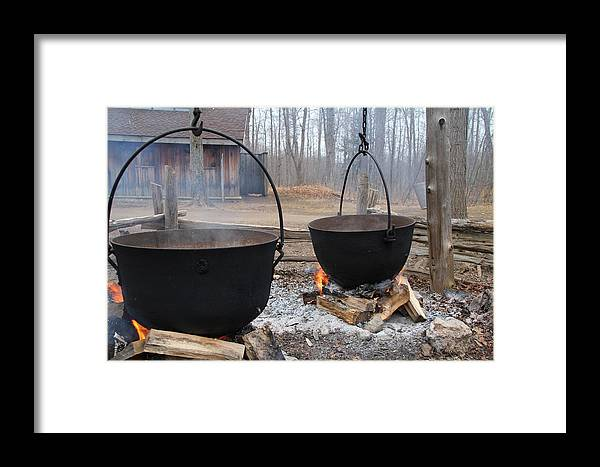 Black Magic Framed Print featuring the photograph Sugar Shack by Kim French