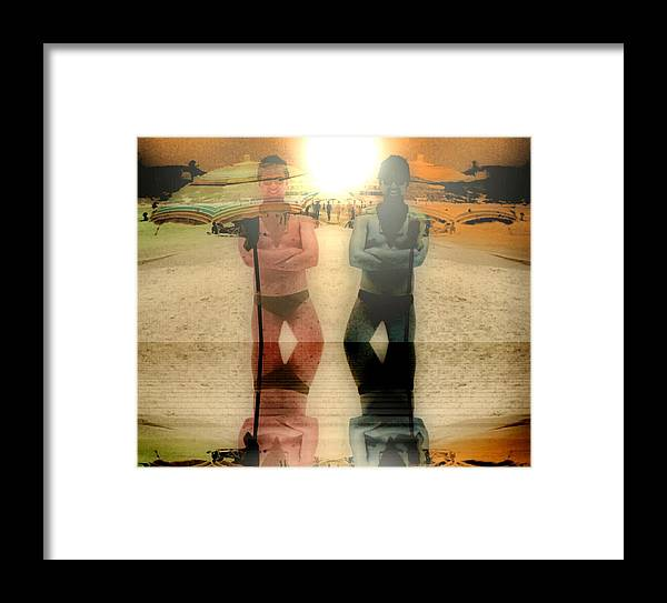 People Framed Print featuring the photograph Summer by Beto Machado