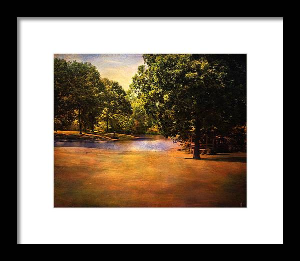Beautiful Landscape Framed Print featuring the photograph Summer Pond by Jai Johnson