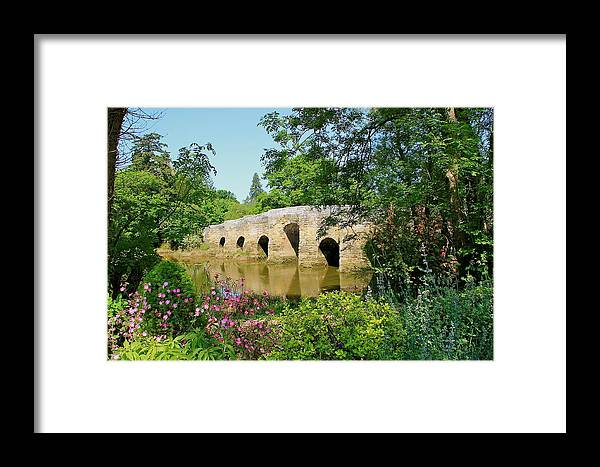 Landscape Framed Print featuring the photograph Summers Day by Karen Grist