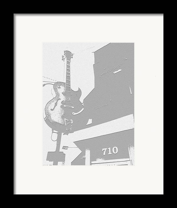 706 Union Avenue Memphis Framed Print featuring the photograph Sun Studios by Jame Hayes