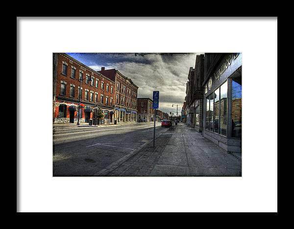 Acrylic Prints Framed Print featuring the photograph Sunday Afternoon Cannon Practice by John Herzog