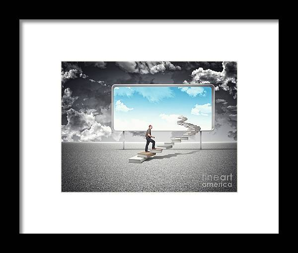 Future Framed Print featuring the photograph Sunny Future by Gualtiero Boffi