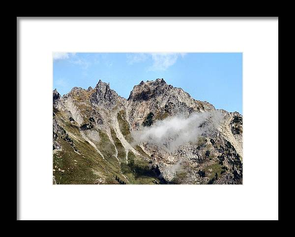 Sunny Framed Print featuring the photograph Sunny Mountain Afternoon by Michael Merry