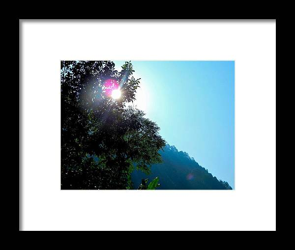 Sunrise Framed Print featuring the photograph Sunrise by Manoj Upreti
