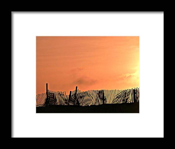 Sunrise Framed Print featuring the photograph Sunrise On The Outer Banks by Jo Sheehan