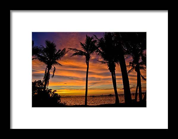 Sun Framed Print featuring the photograph Sunrise Silhouettes by Julio n Brenda JnB