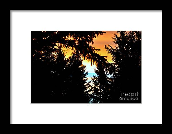 Sunrise Framed Print featuring the photograph Sunrise by Tanya Searcy