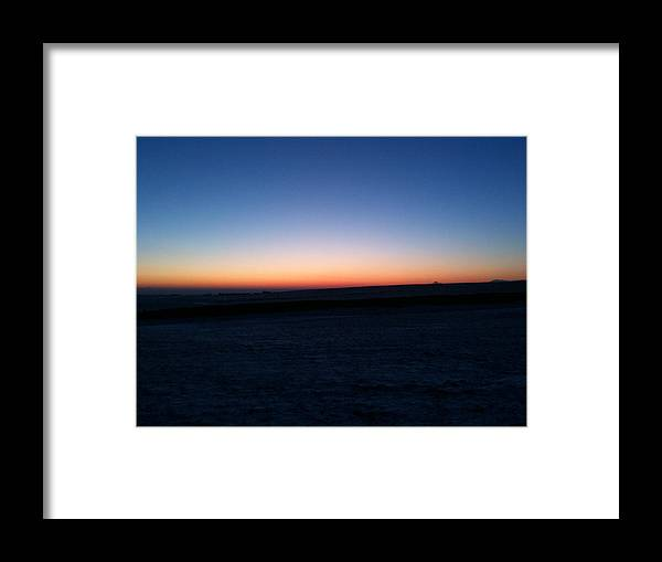 Sunset Framed Print featuring the photograph Sunset by Christopher Mercer
