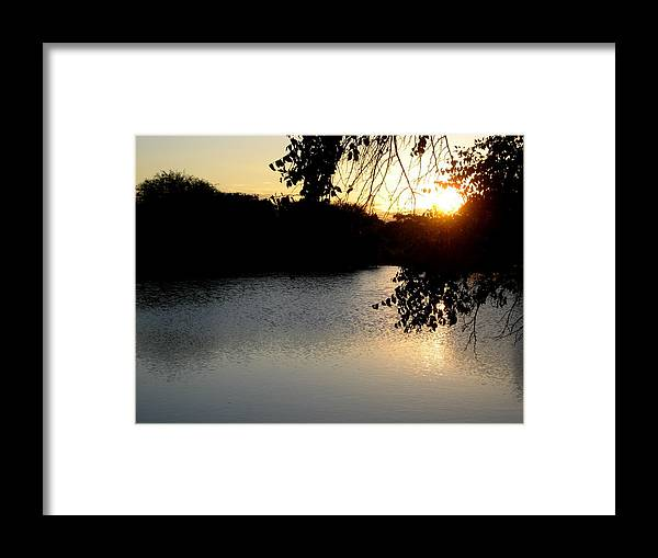 Sunset Framed Print featuring the photograph Sunset by Kendra Hunt