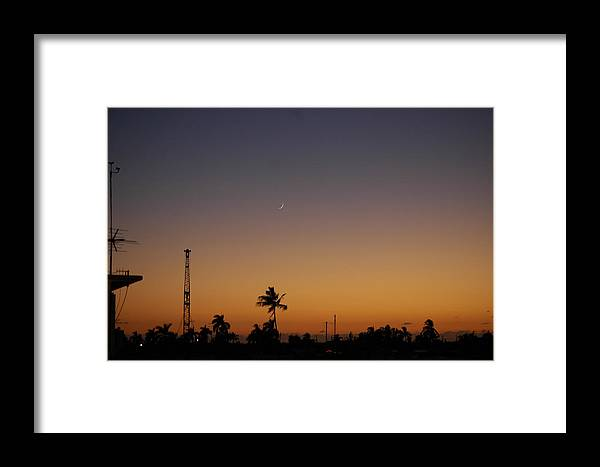 Sunset Framed Print featuring the photograph Sunset Over Matlacha by Susie Carr