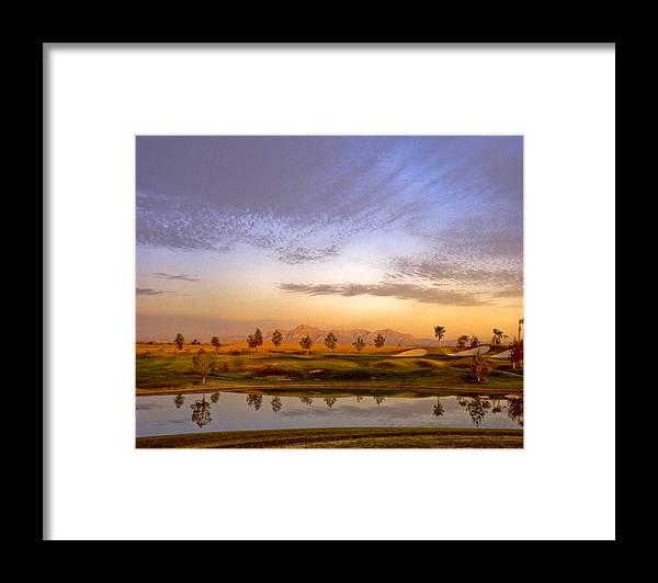 Landscape Framed Print featuring the photograph Superstitions by Jim Painter