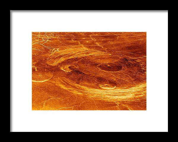 Astronomy Framed Print featuring the photograph Surface Of Venus by Detlev Van Ravenswaay