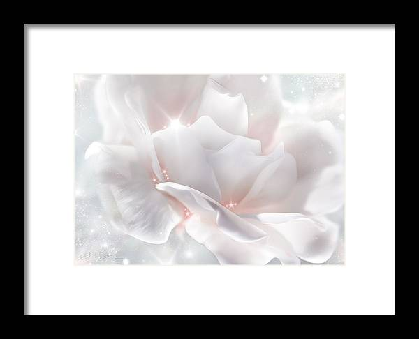 Anniversary Framed Print featuring the photograph Surprise Rose by Svetlana Sewell