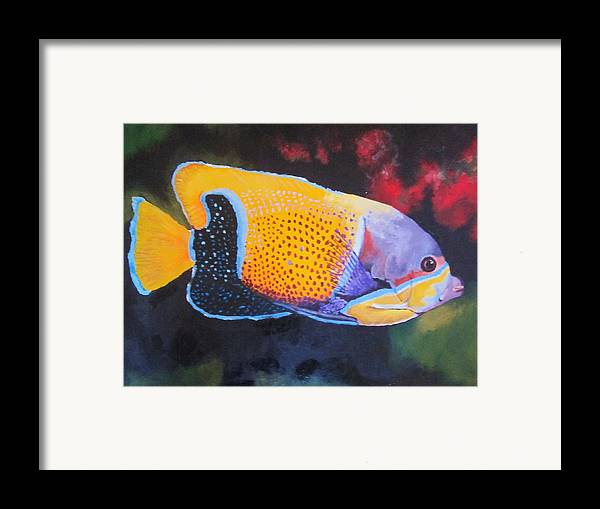 Fish Framed Print featuring the painting Sutton Fish by Terry Gill