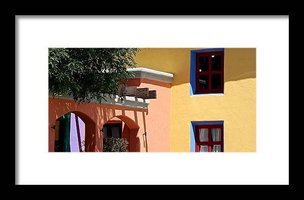 South Framed Print featuring the photograph S.w. Home by Kume Bryant