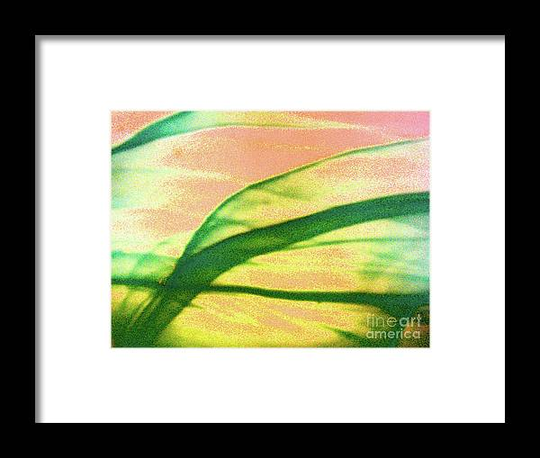 Abstract Framed Print featuring the photograph Sweeping by Mark Holbrook