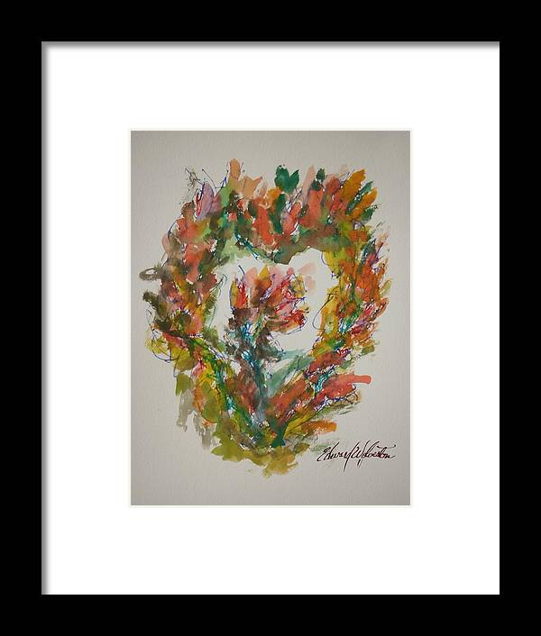 Hearts Of Fire Framed Print featuring the painting Sweet Heart Of Love by Edward Wolverton