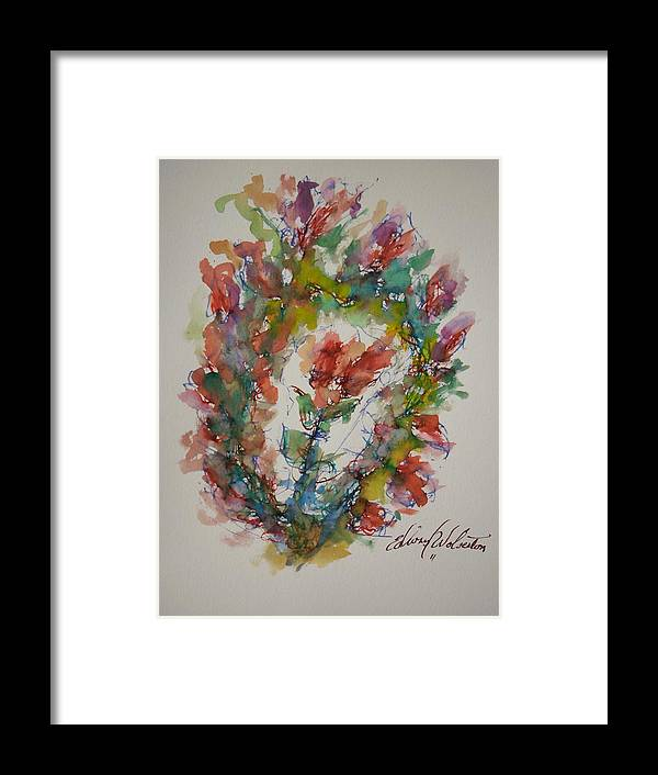 Hearts On Fire Framed Print featuring the painting Sweet Surrender by Edward Wolverton