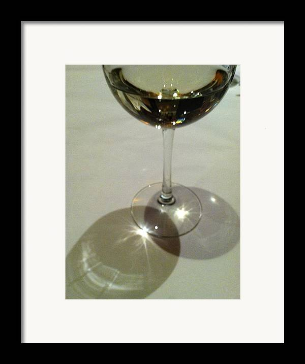 White Wine Framed Print featuring the photograph Sweetest Day by Anna Villarreal Garbis