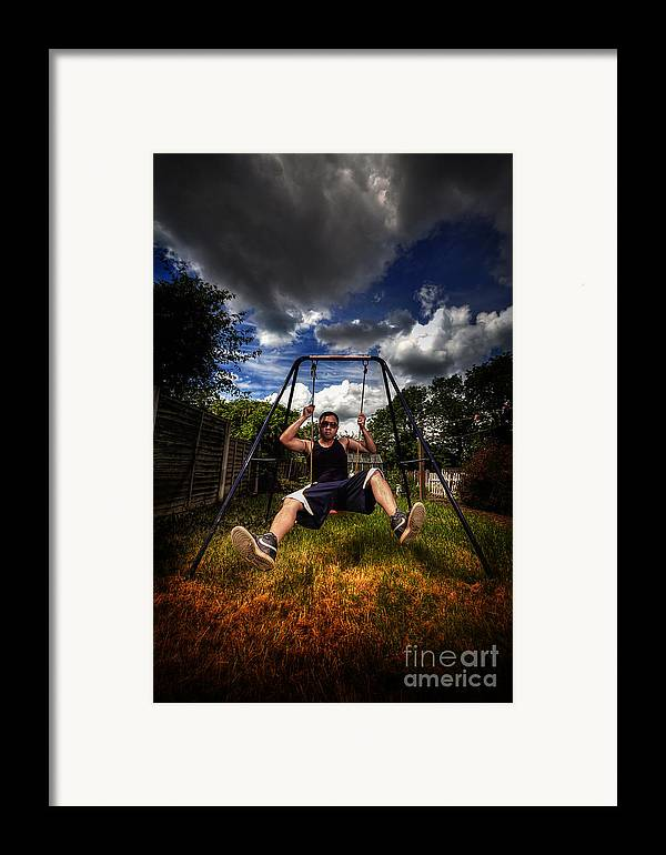 Yhun Suarez Framed Print featuring the photograph Swinger by Yhun Suarez