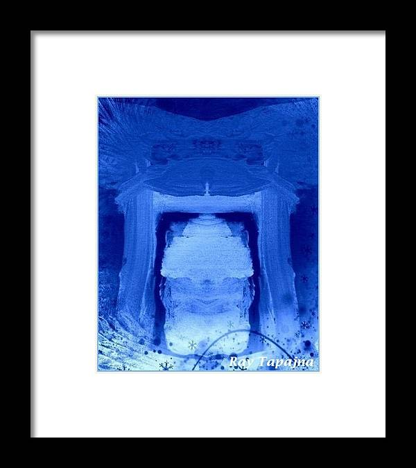 Yesterday Dreams Framed Print featuring the mixed media Tabernacle of Hope by Ray Tapajna