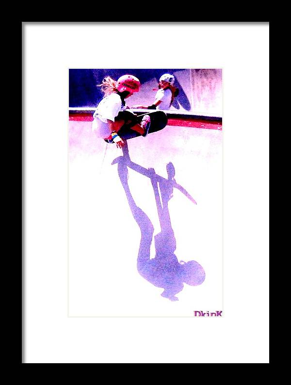Skateboarding Framed Print featuring the photograph Talba by Douglas Kriezel