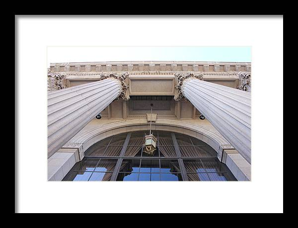 Pillar Framed Print featuring the photograph Tall And Strong by Jennifer Westlake