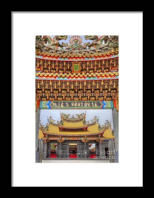 Temple Framed Print featuring the photograph Taoist Temple 8 by Tad Kanazaki