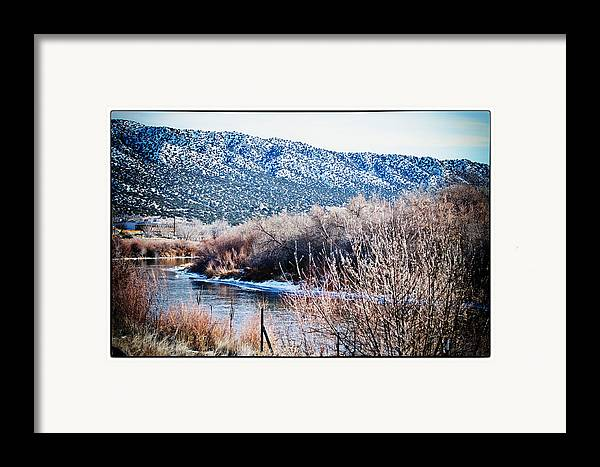 Landscape Framed Print featuring the photograph Taos Creek by Lisa Spencer