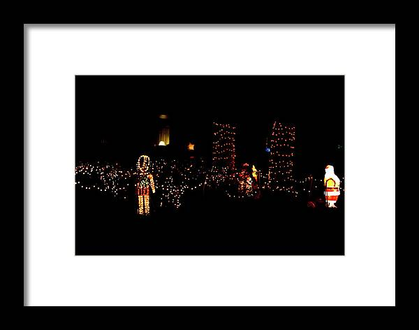 Japanese Framed Print featuring the photograph Teakwood Island Toy Soldier To Standing Santa by John Wright