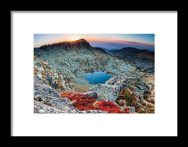 Bulgaria Framed Print featuring the photograph Tear Drops by Evgeni Dinev