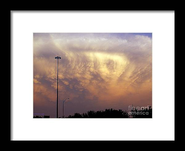 Cloud Framed Print featuring the photograph Texas Sized Cloud by Kim Yarbrough
