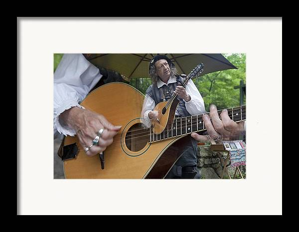 Lute Framed Print featuring the photograph The Bard's Song by Charles Warren
