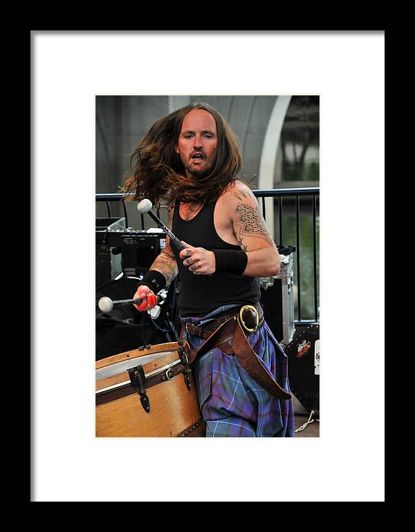 Music Framed Print featuring the photograph The Baron Of Bass by Mike Martin