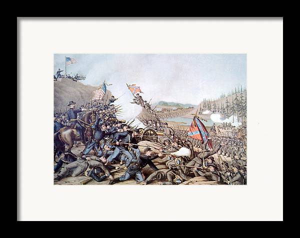 Battle Of Franklin Framed Print featuring the photograph The Battle Of Franklin, November 30 by Everett