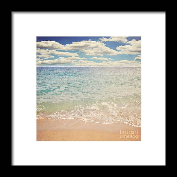 Beach Framed Print featuring the photograph The Beach by Lyn Randle